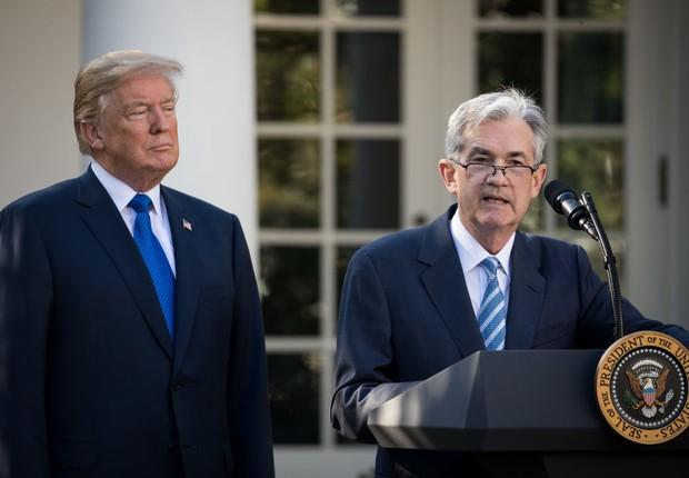 Donald Trump nomeia Jerome Powell como novo presidente do FED (Foto: Drew Angerer/Getty Images)
