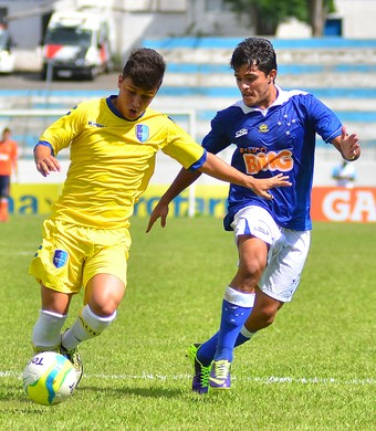 Copinha - Cruzeiro x Audax-SP - Lucas Kevin e Murilo Piccolo (Foto: Jonas Barbetta/Futura Press)