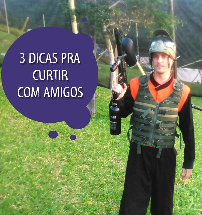 Dicas para curtir com amigos (Foto: RBS TV/Divulgação)