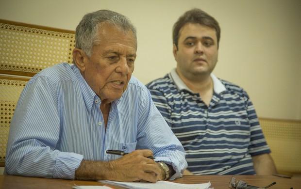 Carivaldo confirma Lagarto na Copa do Brasil (Foto: Filippe Araújo/FSF)