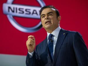 Apesar da Nissan ter registrado lucro menor que Honda e Toyota, seu presidente ganha mais (Foto: BBC)