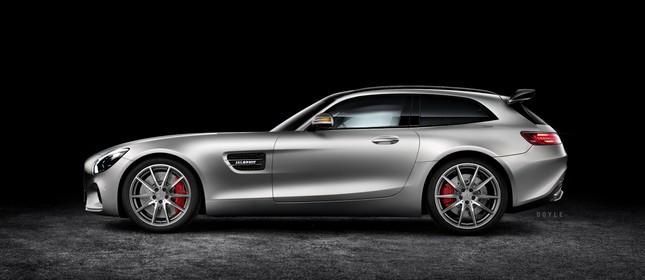 Mercedes Benz GT AMG Concept Shooting Brake