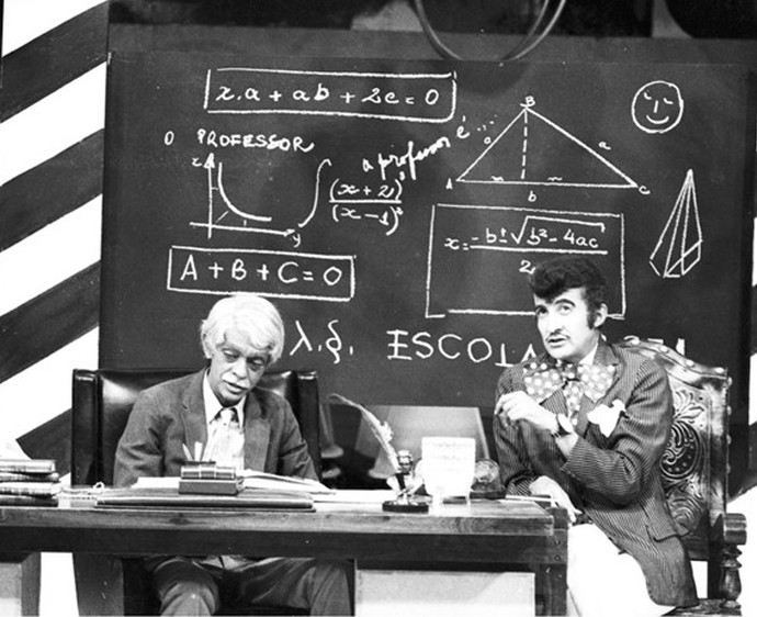 Chico Anysio e Jorge Loredo (Foto: CEDOC / TV Globo)