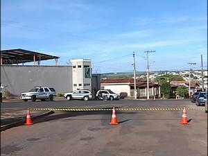 Cadeia Pública de Monte Carmelo (Foto: Reprodução/TV Integração)