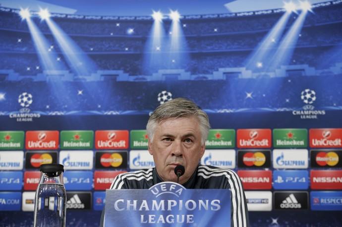 Carlo Ancelotti Real Madrid (Foto: Reuters)