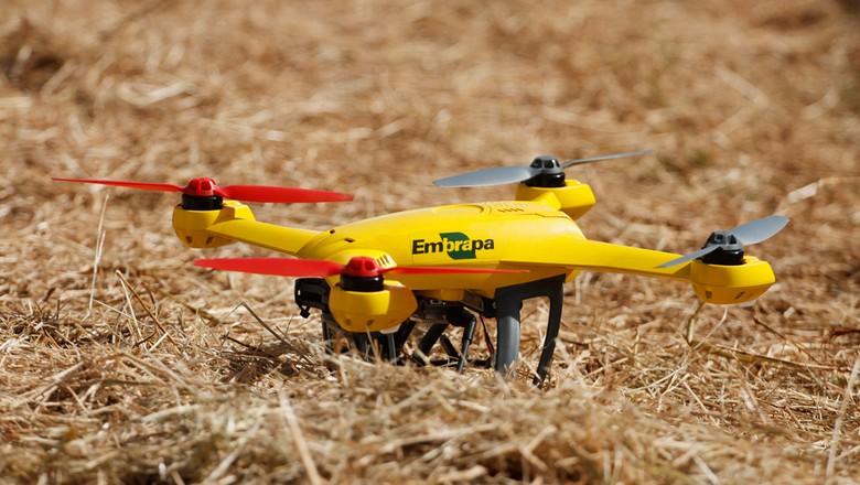 tecnologia_drone_embrapa (Foto: Divulgação / Agrishow)