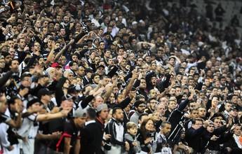 Corinthians e Palmeiras duelam pelas melhores médias de público em 2016
