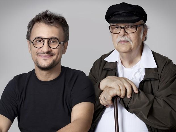 Fernando Mendes (à esq.) e Sergio Rodrigues (Foto: Eduardo Camara/Divulgação)
