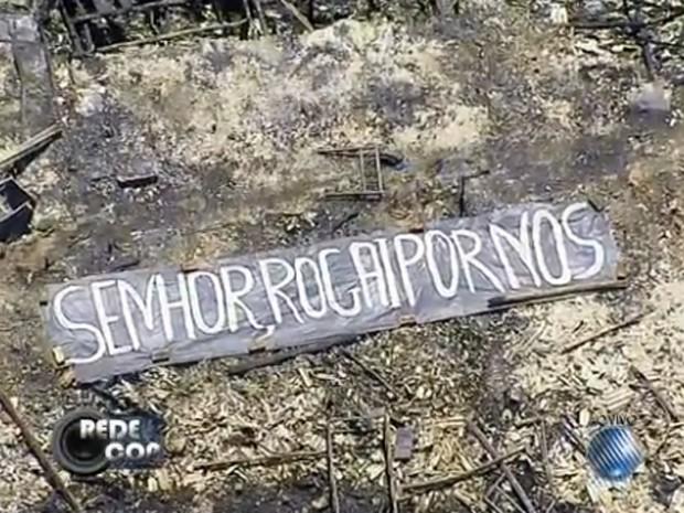 Alagados Incêndio Bahia (Foto: Reprodução/TV Bahia)