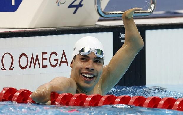 Daniel Dias 100m livre paralimpíadas londres (Foto: Reuters)