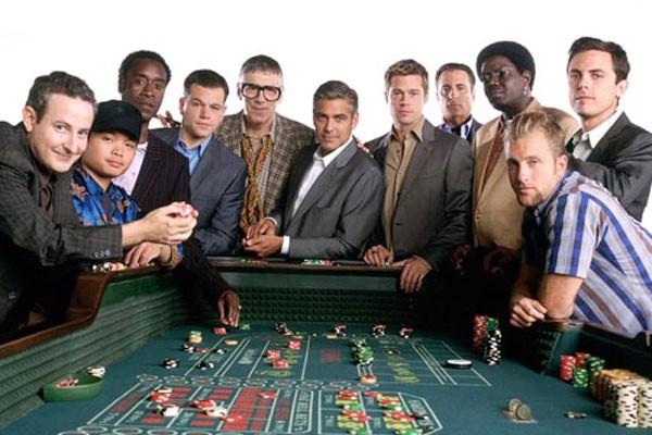 Elenco de Onze Homens e um Segredo (2001) (Foto: Divulgação)