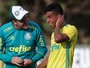 Com garotos da base, Palmeiras faz último treino aberto de 2016