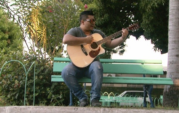 Conheça o cantor roraimense Walker Tavares (Foto: Bom Dia Amazônia)