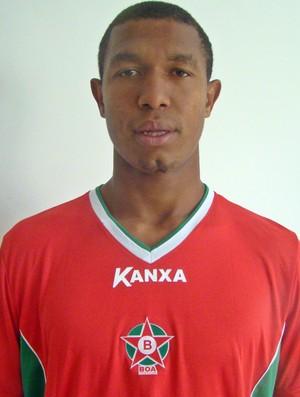 O atacante Rodrigão e mais dois jogadores foram dispensados pelo Boa Esporte nesta terça-feira (9) (Foto: Divulgação Boa Esporte)