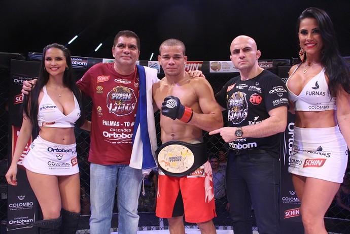 Maike Linhares Jungle Fight MMA (Foto: Leonardo Fabri/Divulgação)