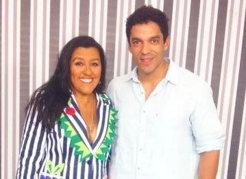 Thiago Castanho e Regina Casé  (Foto: Reprodução/Instagram)