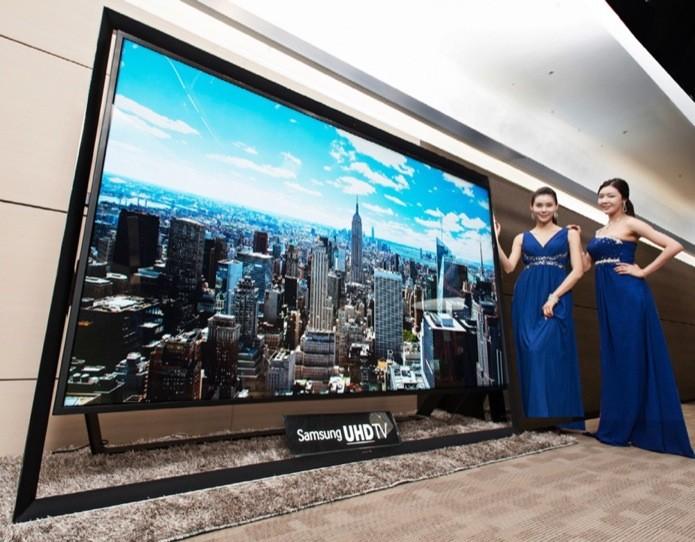 Samsung começa a vender TV 4K de 110″ (Foto: Divulgação)