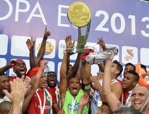 Real Noroeste campeão da Copa Espírito Santo 2013 (Foto: Bernardo Coutinho/A Gazeta)