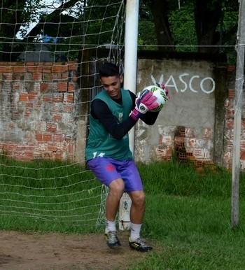 Nathan Cunha, goleiro do Vasco-AC (Foto: Nathacha Albuquerque)