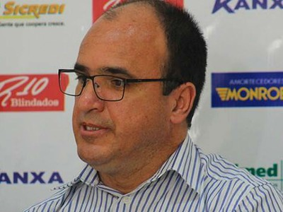 Luiz Henrique de Oliveira Presidente Mogi Mirim Sapo (Foto: Geraldo Bertanha / Mogi Mirim EC)