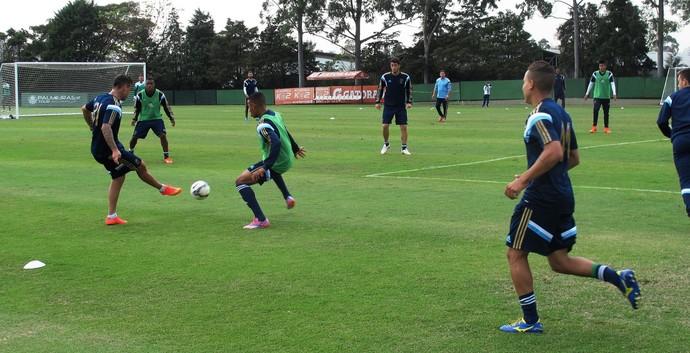 Palmeiras treino (Foto: Marcelo Hazan)