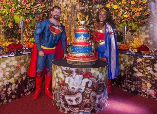 Cacau Protásio e o marido, Janderson Pires, comemoram aniversário (Foto: Reprodução/Instagram)
