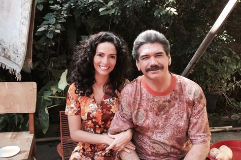 Claudia Ohana e Jackson Antunes  (Foto: Divulgação)