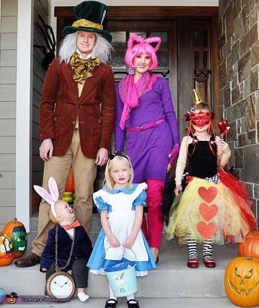 Família fantasiada para o Halloween (Foto: Pinterest)