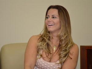 Radamés garante: quem tem ciúmes é ela. (Foto: Lucas Soares / Globoesporte.com)