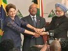 Dilma discute crise financeira em encontro na África do Sul
