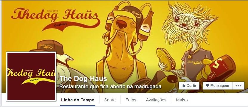 Página da lanchonete The Dog Haus no Facebook (Foto: reprodução/Facebook)