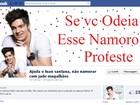 Fãs criam comunidade virtual contra o namoro de Luan Santana