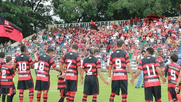 Flamengo-PI Futebol Elenco (Foto: Náyra Macêdo/GLOBOESPORTE.COM)