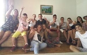 Denise Salvi e família (Foto: Arquivo pessoal)