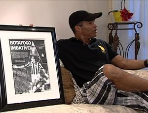 Ex-zagueiro Gonçalves (Foto: TV Globo)