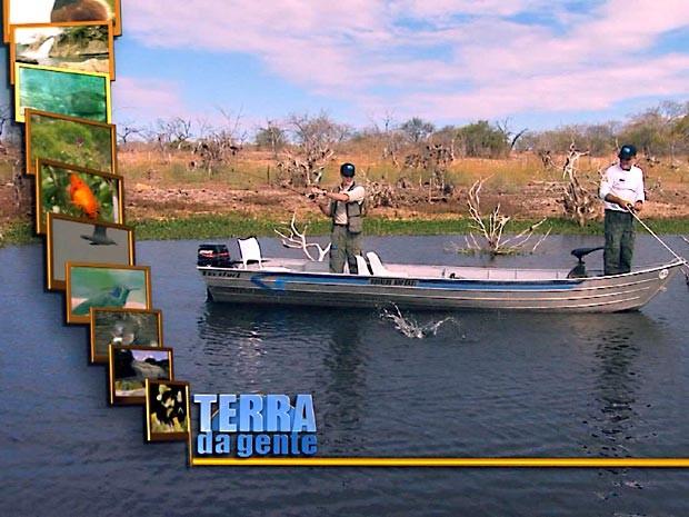 Terra da Gente mostra a pesca esportiva no Ceará (Foto: Reprodução / EPTV)