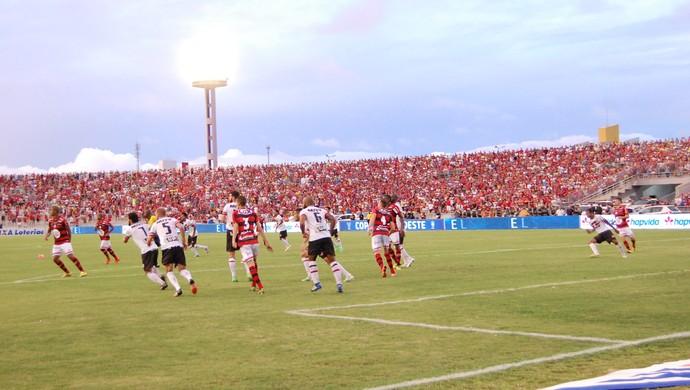 Campinense x Santa Cruz, Amigão (Foto: Silas Batista / GloboEsporte.com)