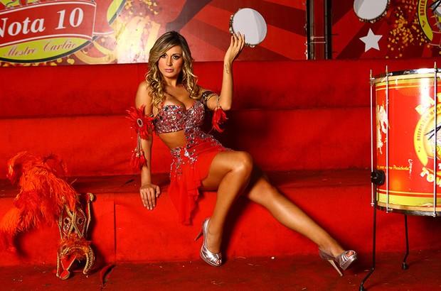 Carnaval - Andressa Urach posa para o EGO (Foto: Iwi Onodera/EGO)