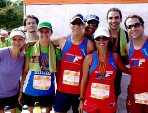 Kika Vernalha equipe assessoria Corrida Eu Atleta (Foto: Divulgação / Arquivo Pessoal)