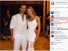 Marina Ruy Barbosa compartilha foto com o namorado Caio Nabuco