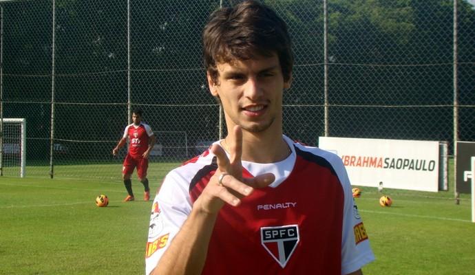 Rodrigo Caio - São Paulo (Foto: Site Oficial / saopaulofc.net)