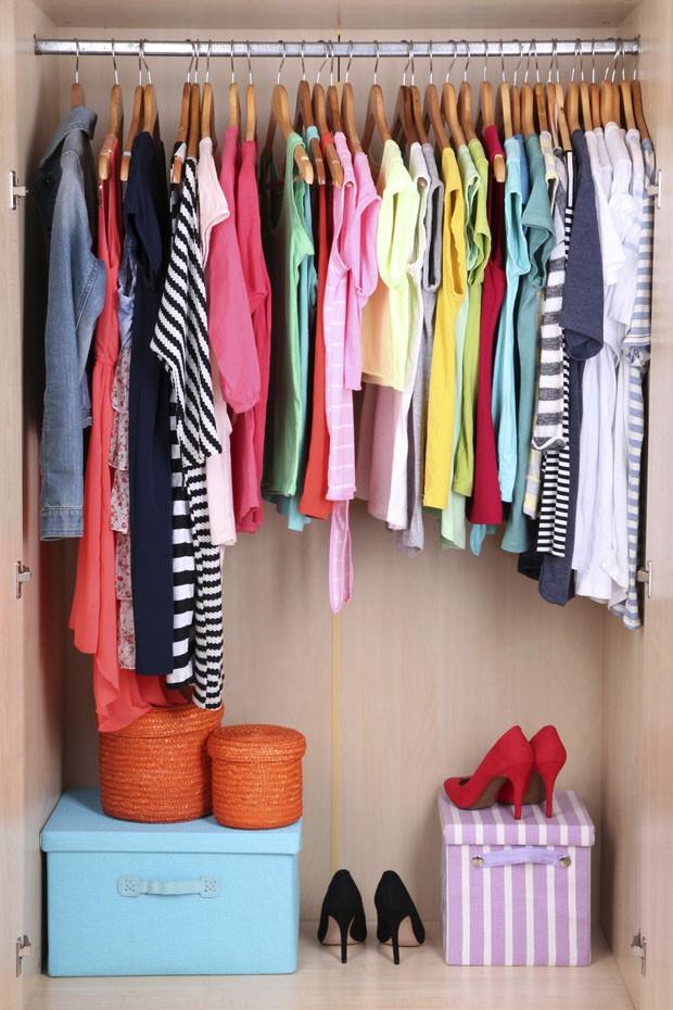 Organização de closets (Foto: Thinkstock / divulgação)