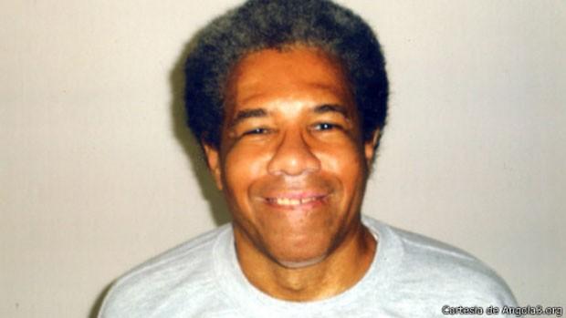 Viúva argumenta que não há nada que prove a culpa de Albert Woodfox (na foto) (Foto: Cortesia de Angola3.org)