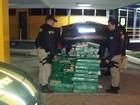 PRF apreende mais de 400 kg de maconha em porta-malas de carro