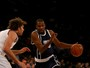 Com show de Durant e West, Thunder bate Knicks em NY na prorrogação