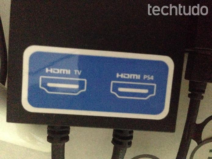 Entradas da unidade processadora do PS VR (Foto: Felipe Vinha/TechTudo)