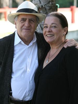 Ary Fontora e Bete Mendes são par romântico (Foto: Divulgação/ Globo)