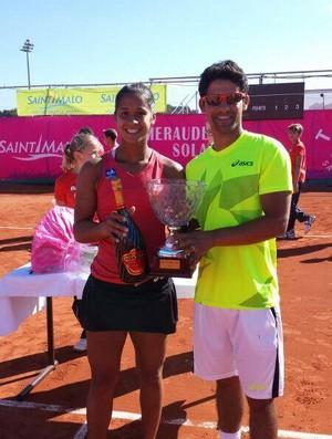 Teliana Pereira vence Challenger na França (Foto: Divulgação)