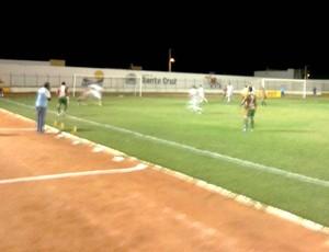 Santa Cruz-RN x Palmeira de Goianinha, no Estádio Iberezão (Foto: Alex Santos)