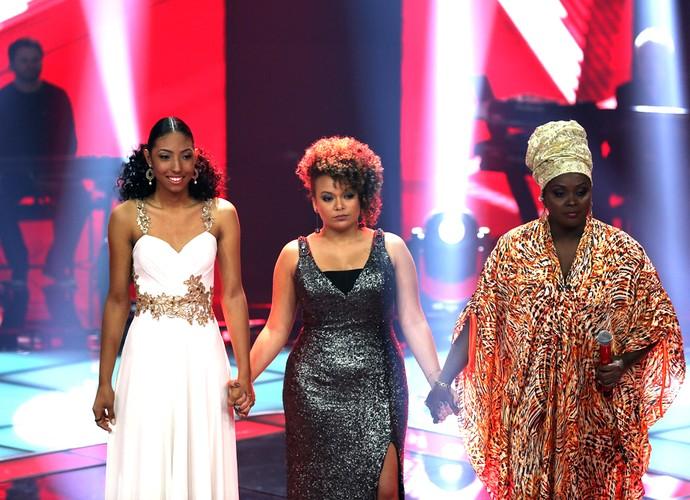 Brown escolheu salvar Paula Sanffer e públicou votou em Agnes (Foto: Isabella Pinheiro / TV Globo)